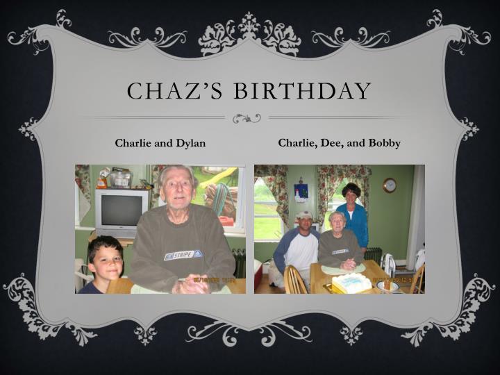 Chaz's