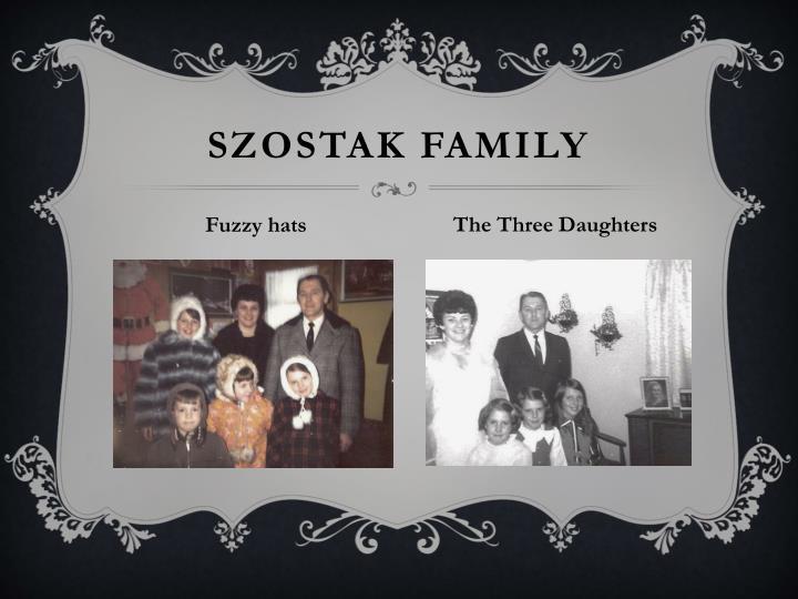 Szostak Family