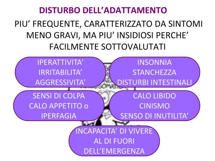 DISTURBO DELL'ADATTAMENTO