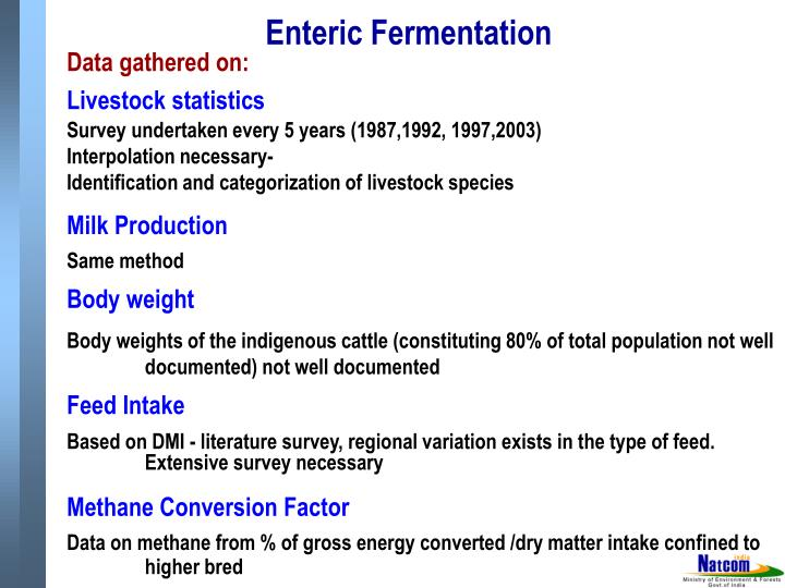 Enteric Fermentation