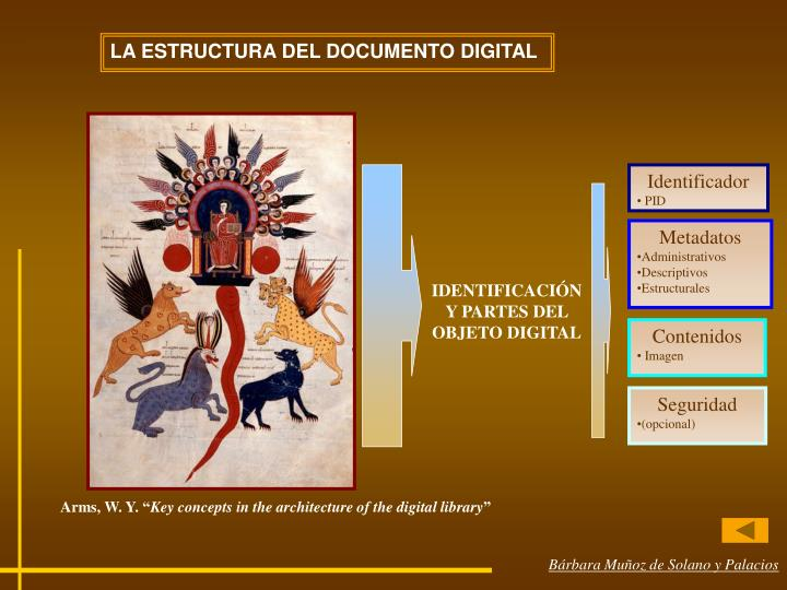 LA ESTRUCTURA DEL DOCUMENTO DIGITAL