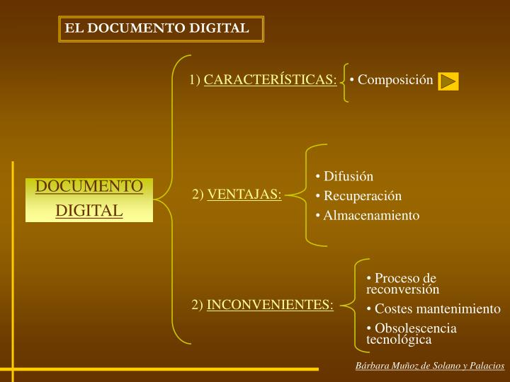 EL DOCUMENTO DIGITAL