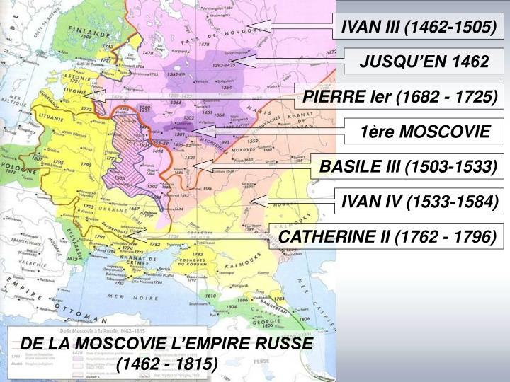 IVAN III (1462-1505)
