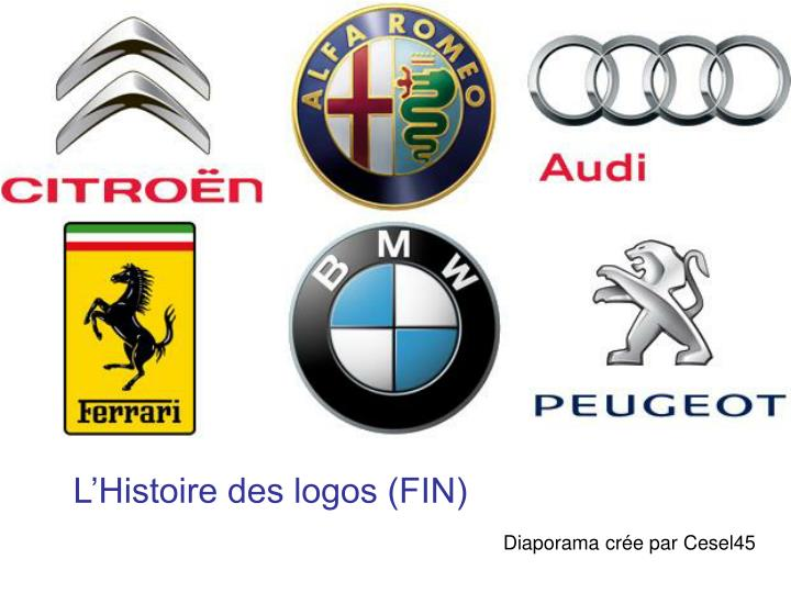 L'Histoire des logos (FIN)
