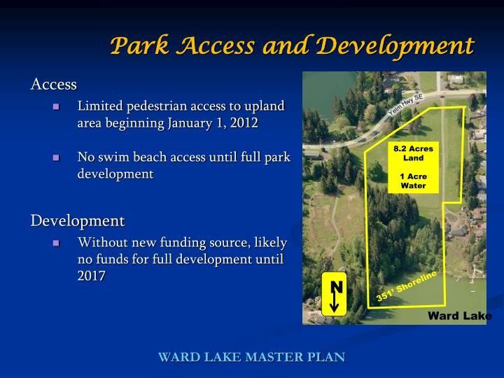 Park Access and Development