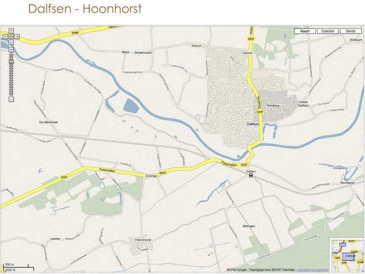 Dalfsen - Hoonhorst