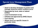 special area management plans