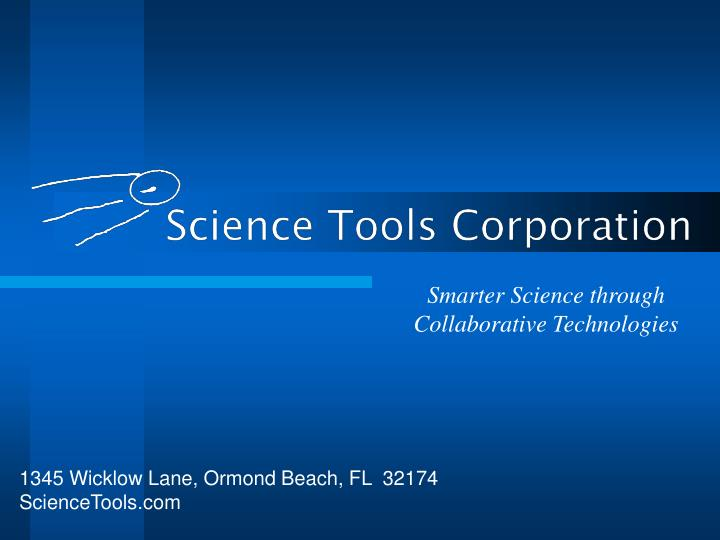 Smarter science through collaborative technologies
