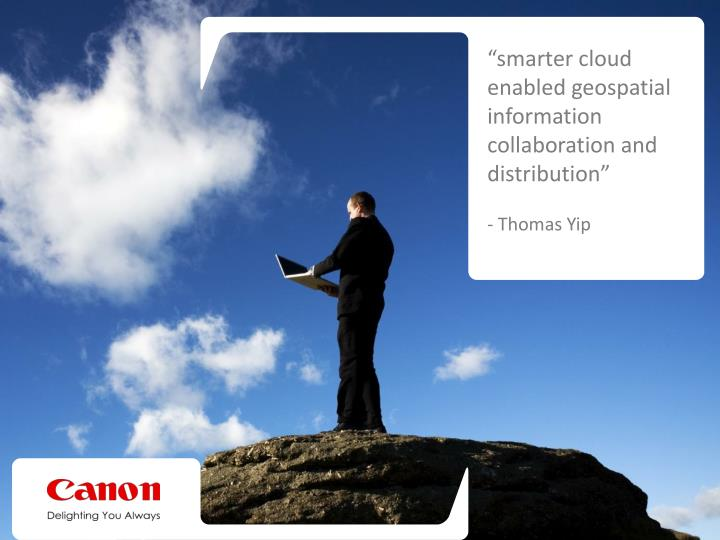 """smarter cloud enabled geospatial information collaboration and distribution"""