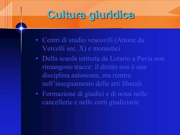 Cultura giuridica