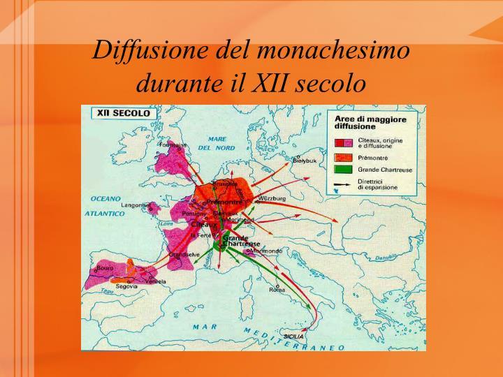 Diffusione del monachesimo