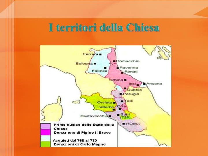I territori della Chiesa
