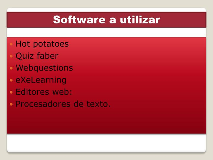 Software a