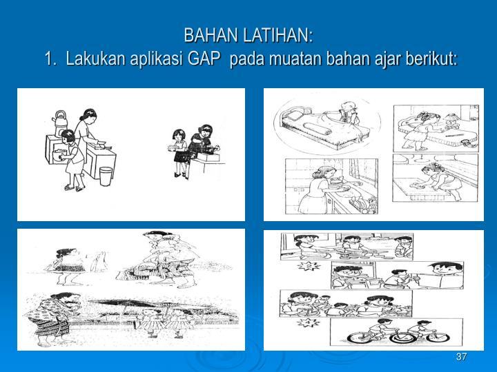BAHAN LATIHAN: