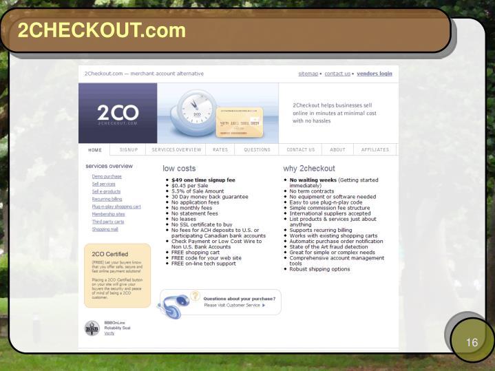 2CHECKOUT.com