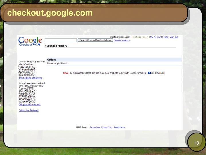 checkout.google.com