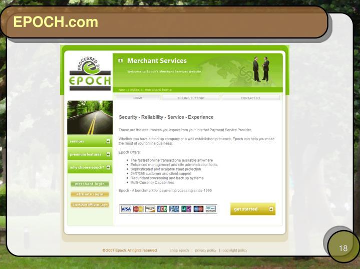 EPOCH.com