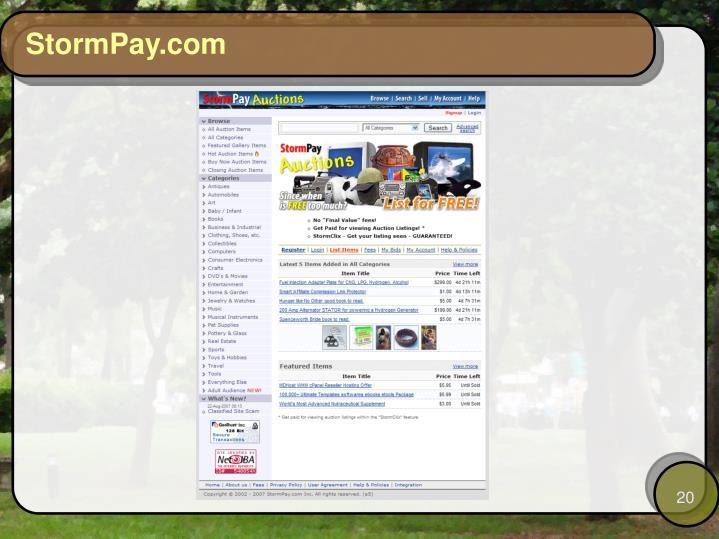 StormPay.com