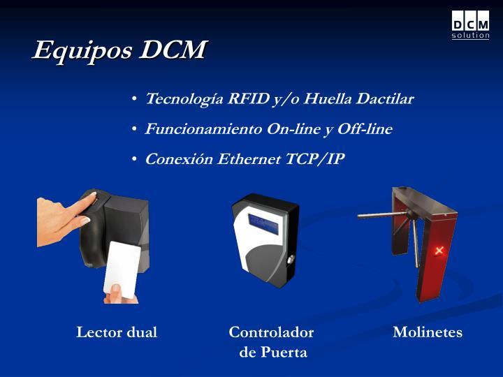 Equipos DCM