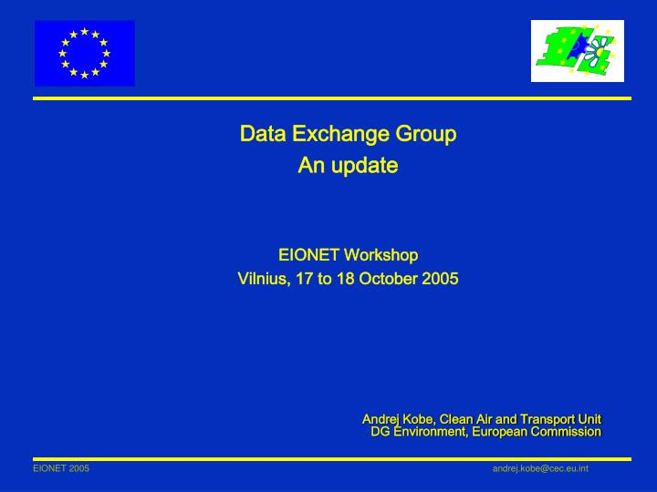 Data Exchange Group