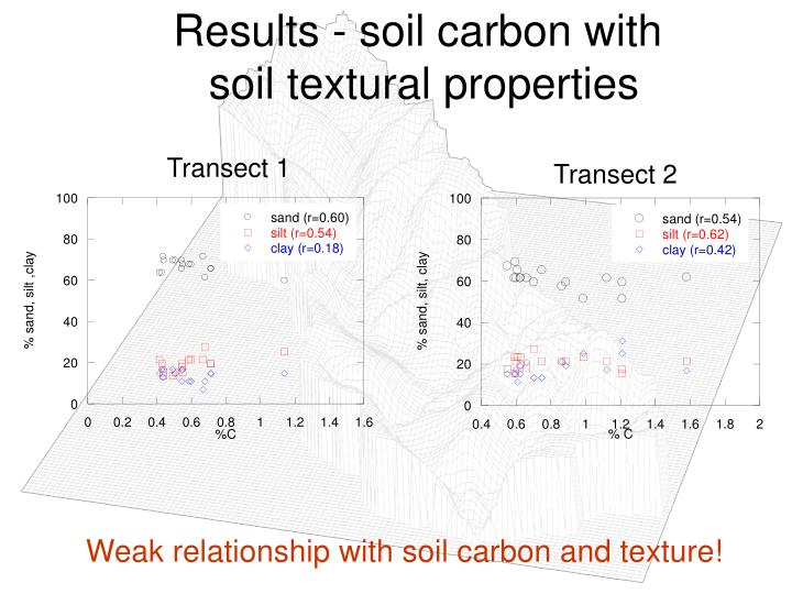 Results - soil carbon with