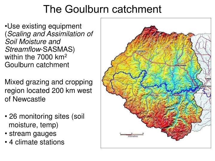 The Goulburn catchment