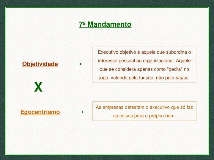 7º Mandamento