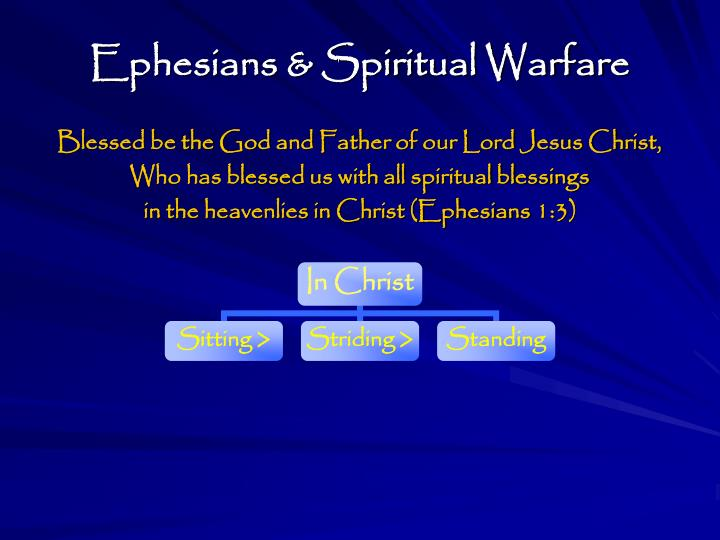 Ephesians & Spiritual Warfare