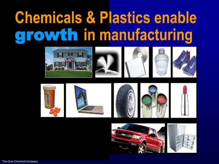 Chemicals & Plastics enable