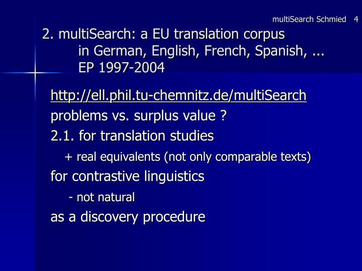 multiSearch Schmied