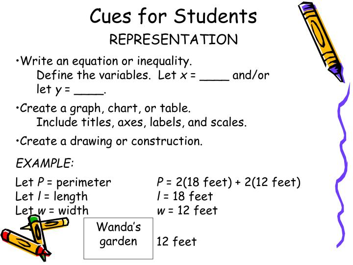 Cues for Students