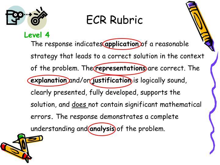 ECR Rubric