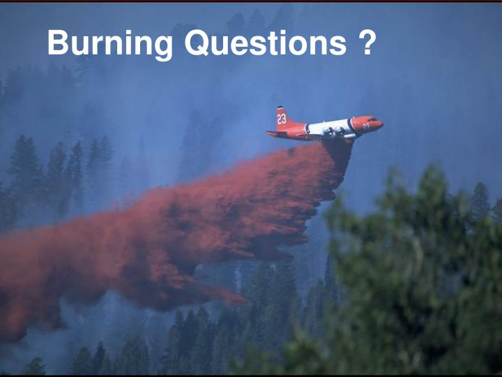 Burning Questions ?