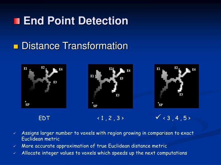 End Point Detection