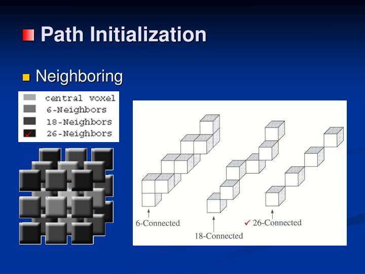 Path Initialization