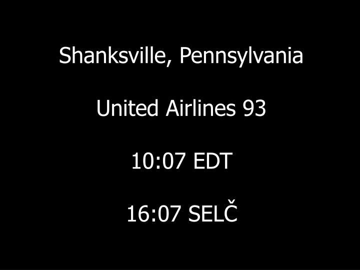 Shanksville, Pennsylvania
