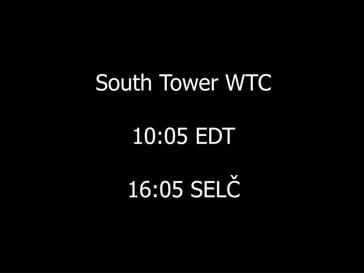 South Tower WTC