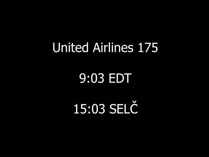 United Airlines 175