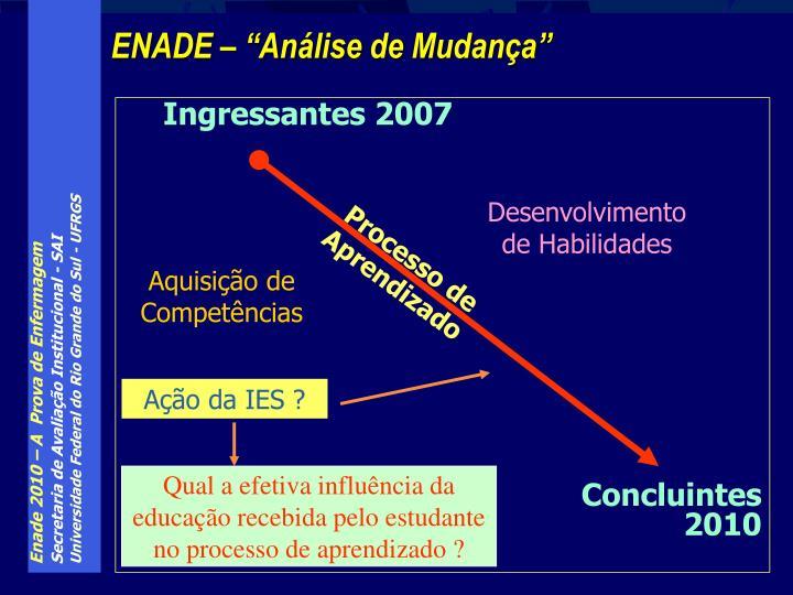 Ingressantes 2007