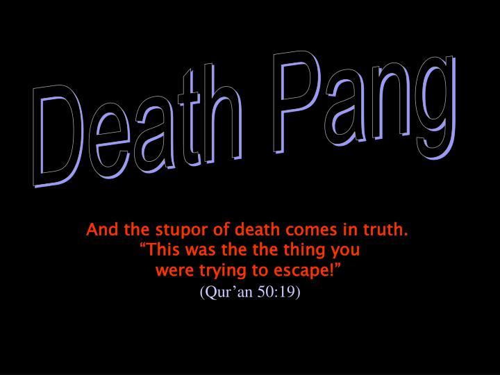 Death Pang