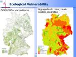ecological vulnerability