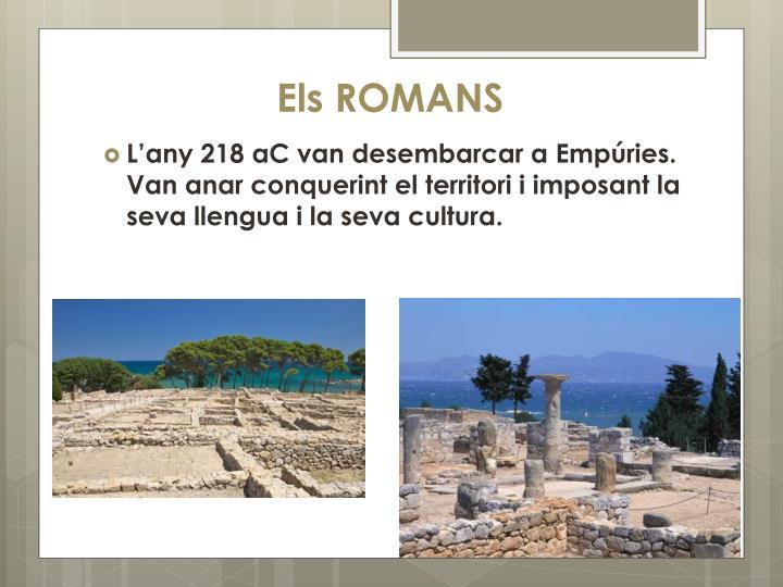 Els ROMANS