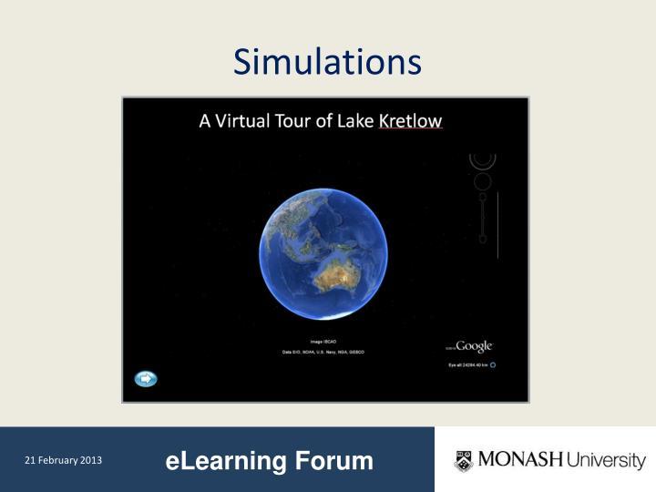 Simulations