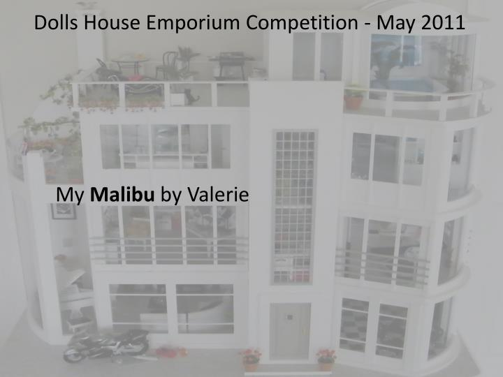 Dolls house emporium competition may 2011