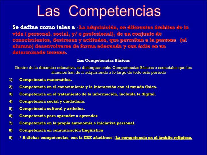 Las  Competencias
