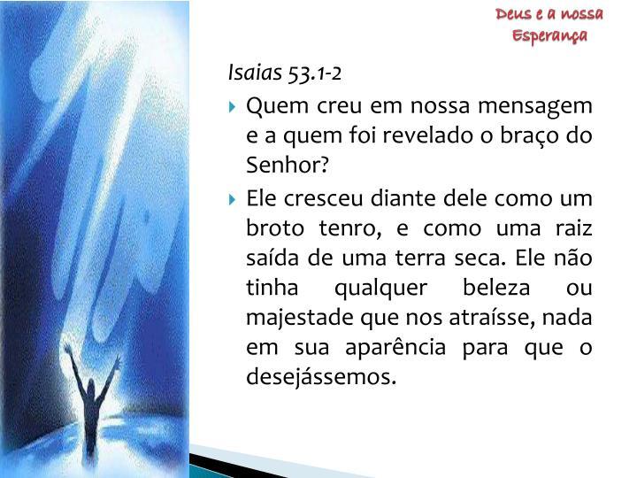 Deus e a nossa