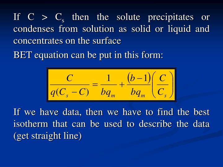 If C > C