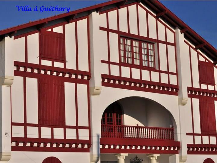 Villa à Guéthary