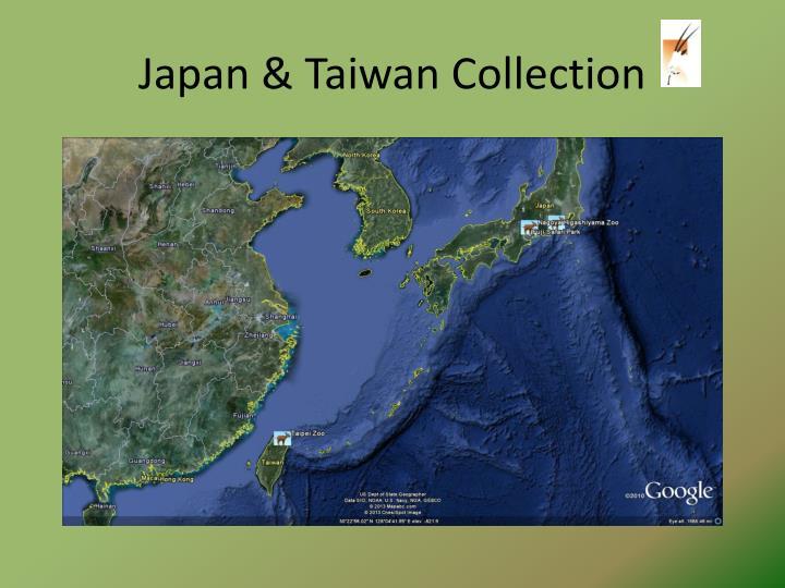 Japan & Taiwan Collection