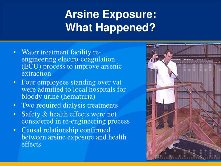 Arsine Exposure: